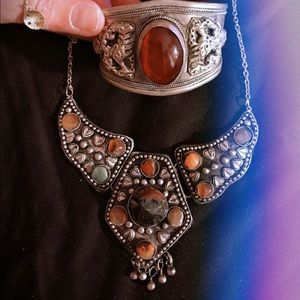 Jewelry - Afghan Handcrafted Necklace.  Beautiful Touch!